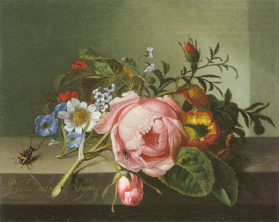 965px-Ruysch,_Rachel_—_Rosenzweig_mit_Käfer_und_Biene_—_1741